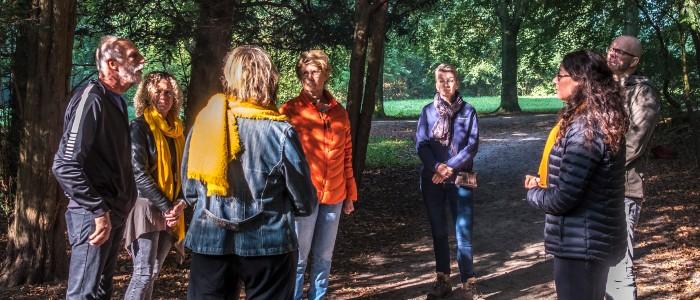 houtmoed gesprek in de groep